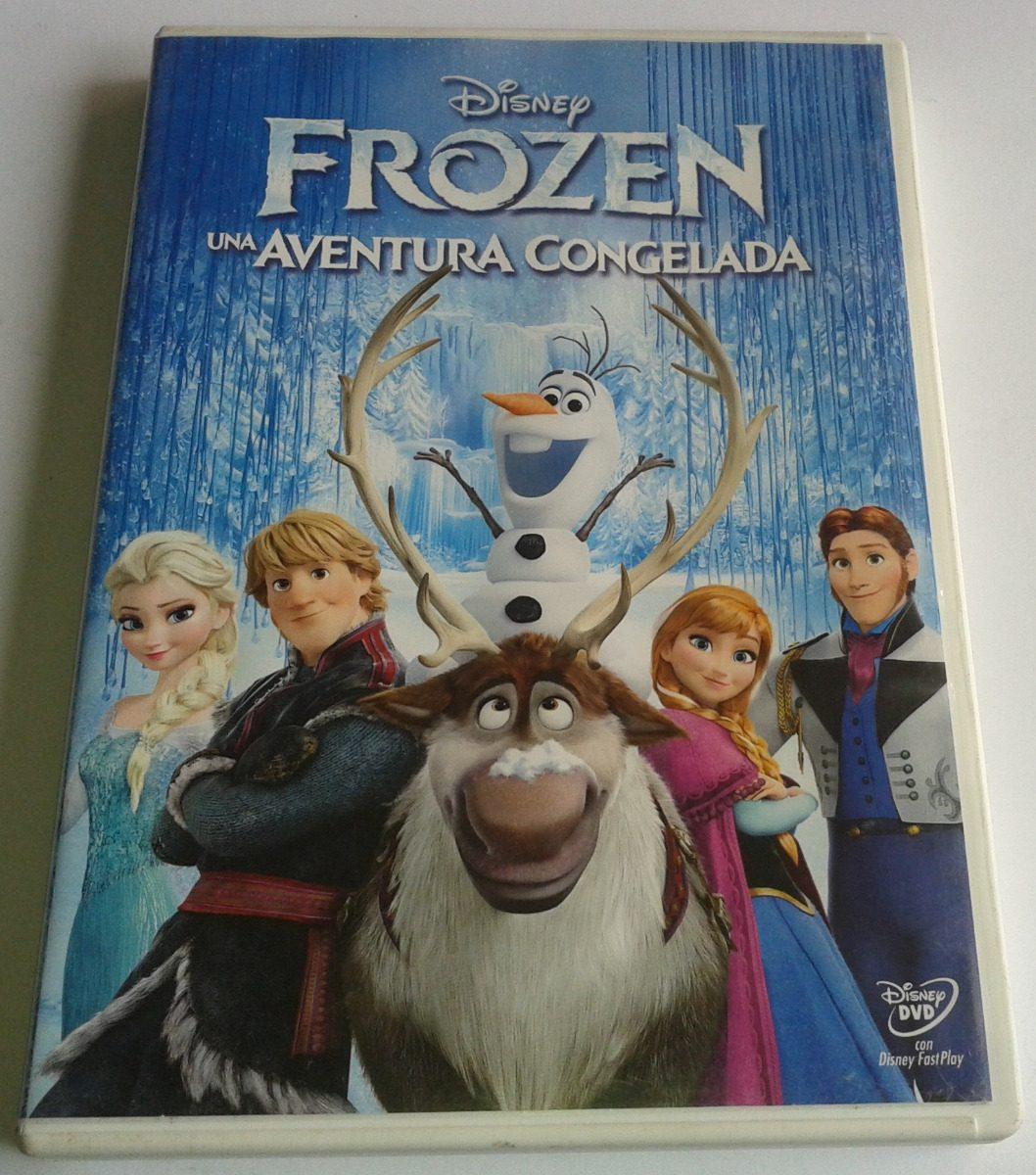 Frozen Una Aventura Congelada Pelicula Dvd Hablada En I Y E ...