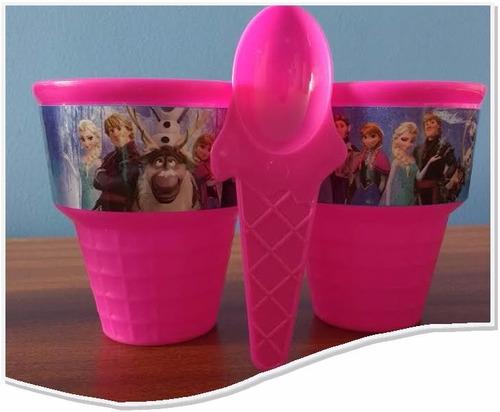 frozen vaso para helado fiestas piñatas frozen