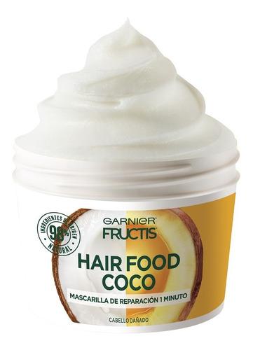 fructis hairfood máscara de reparación cabello dañado 350ml