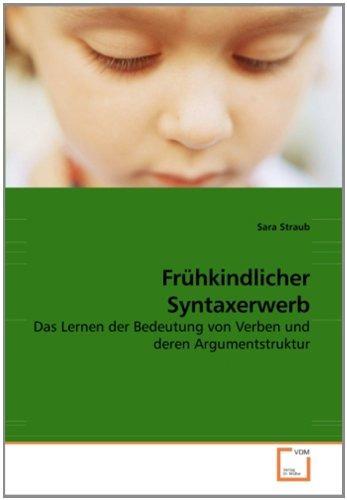 frühkindlicher syntaxerwerb; sara straub