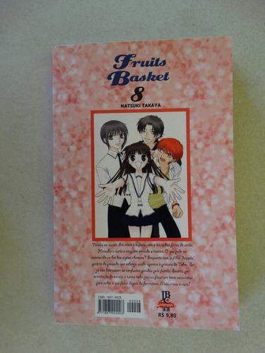 fruits basket nº 8! jbc novembro 2005!