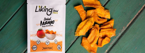 fruta deshidratada liking fruits - organica