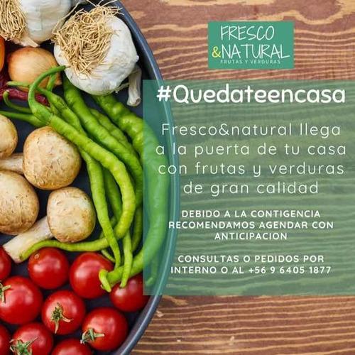 fruta y verduras a domicilio! paga con junaeb o sodexo