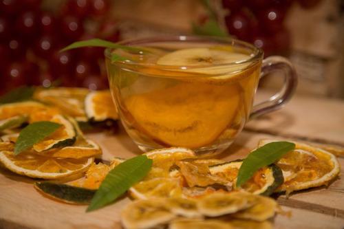 frutas deshidratadas (té)