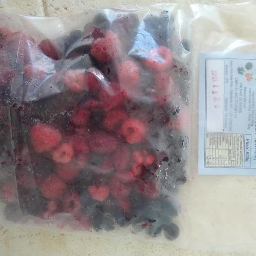 frutas e polpas congeladas