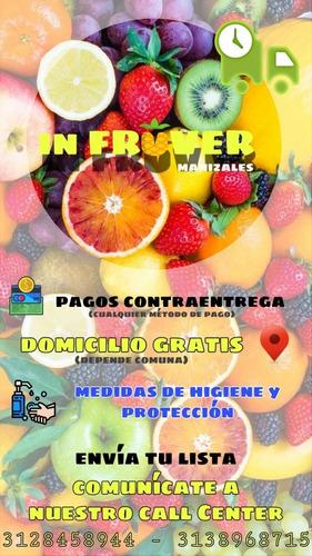 frutas y verduras infruver domicilio
