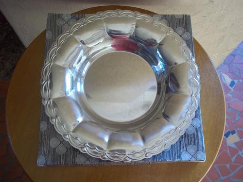 fruteira de mesa aço inox linda