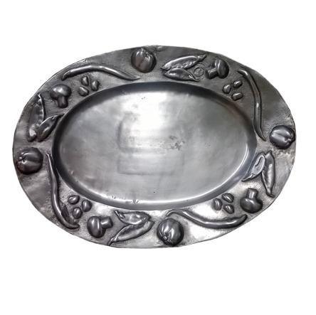 fruteira de mesa em  aluminio detalhes alto relevo