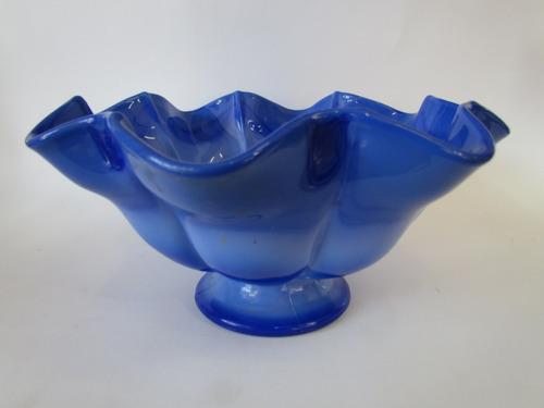 fruteira de opalina azul