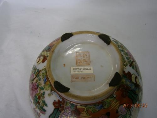 frutero porcelana made in china sello