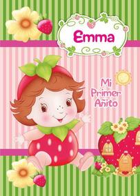 Frutillita Bebé Souvenir Anotador Personalizado X 32