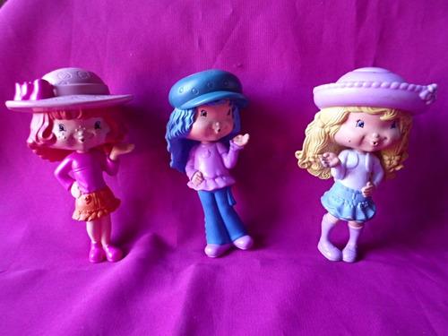 frutillitas lote muñecas coleccion 2009 mc donald´s