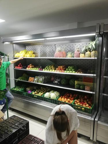 fruver enfriador lacteos frutas