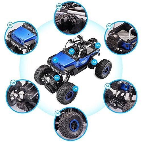 fstgo rc carro 1/18 carcasa metal control remoto carros todo