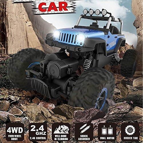 fstgo rc coches 118 carcasa de metal mando a distancia vehic