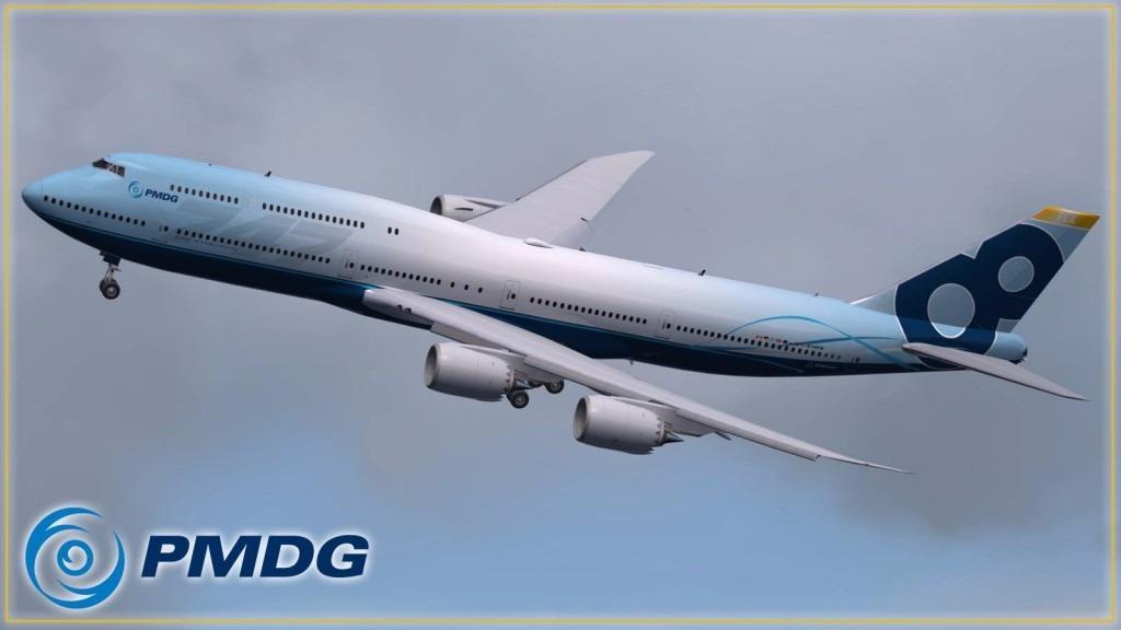 [fsx]pmdg Boeing 747-400x-747-8i