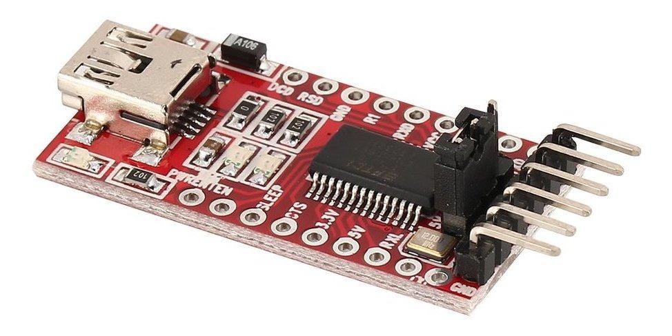Ft232rl Ftdi Usb A Ttl Serial Adaptador Módulo Para Arduino