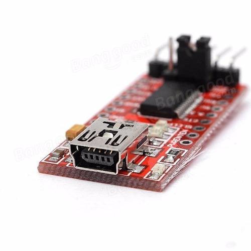 ft232rl usb ftdi a ttl módulo adaptador convertidor arduino