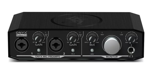 ftm interface mackie producer 2-2 onyx placa de sonido audio