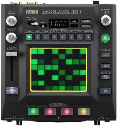 ftm korg kaossilator pro+ - sintetizador  - grabador de loop