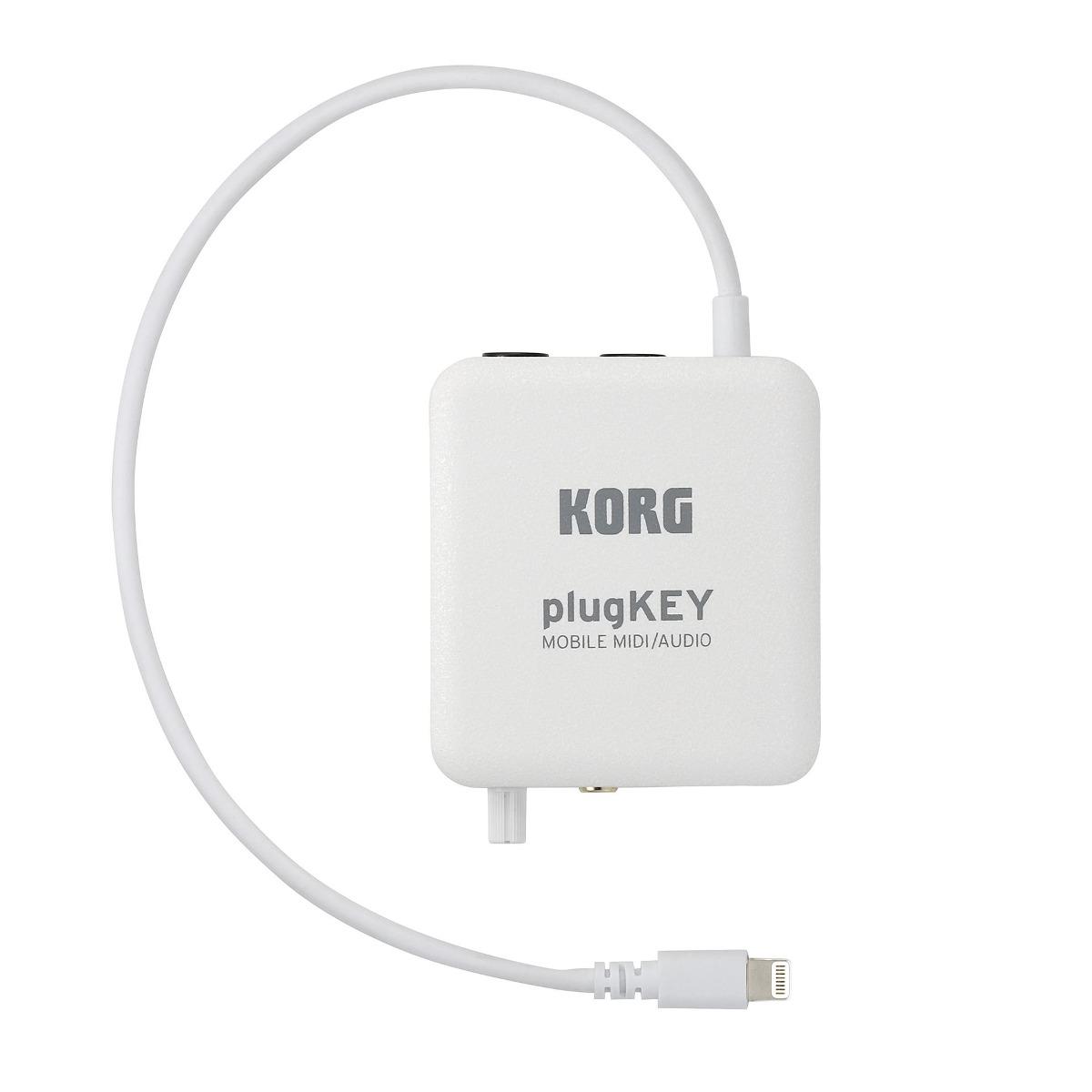 Ftm Korg Plugkey - Interface Midi Y De Audio P/ iPhone Y Ipa