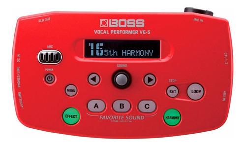 ftm procesador vocal boss ve5