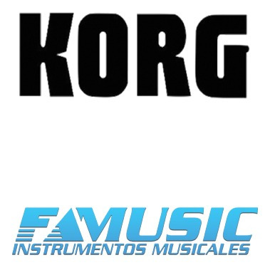 ftm sintetizador korg serie kross 2 61 teclas
