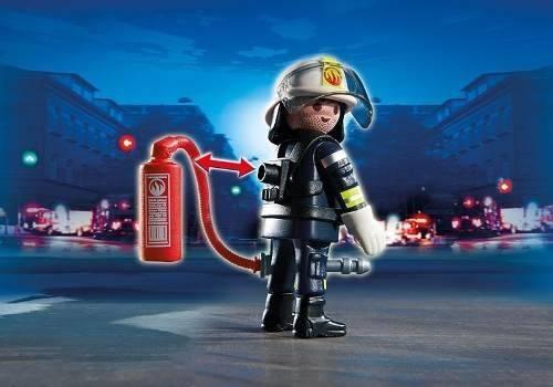 fuego equipo de rescate playmobil r3701