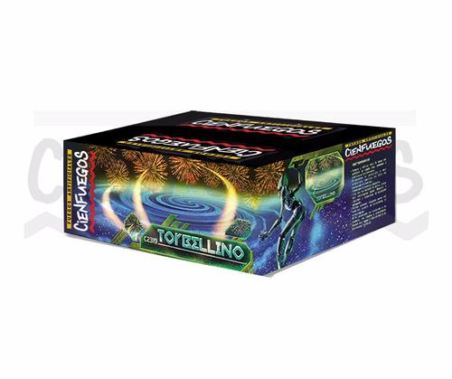 fuegos artificiales torta torbellino 139 tiros