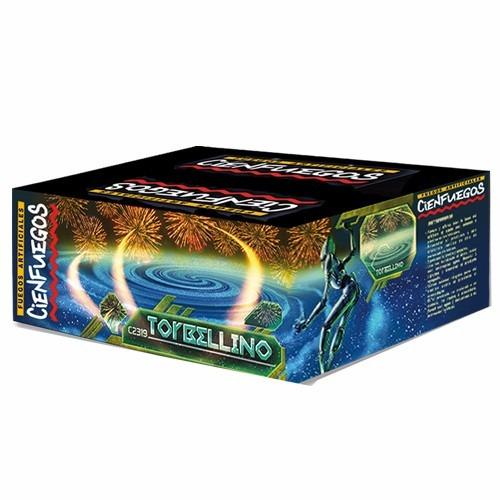 fuegos artificiales torta torbellino 139 tiros - cienfuegos