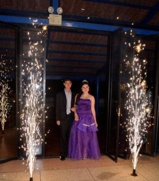 fuegos frios fiestas, 15 años, matrimonios, eventos, etc