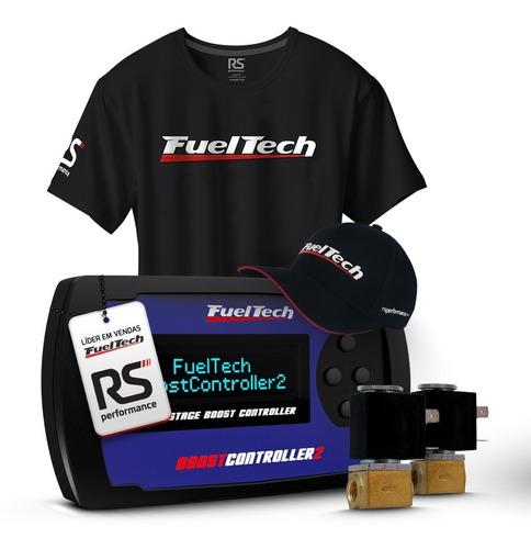 fueltech boostcontroller 2 com 2 solenoides + chicote 3m