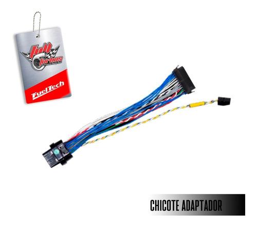 fueltech ft 450 s/ chicote principal + chicote adaptador