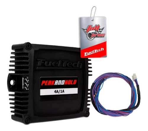 fueltech ft300 + peak and hold 4a + sensores + ultra brindes