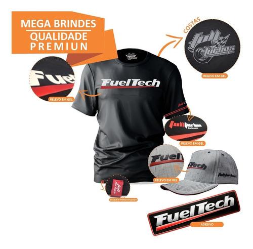 fueltech ft300 sem chicote + mega brindes camiseta gel+bb