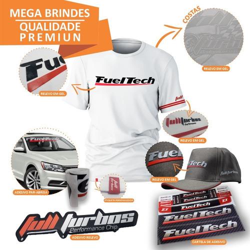 fueltech ft450 com chico 3m + ultra brinde camiseta b gel+bc