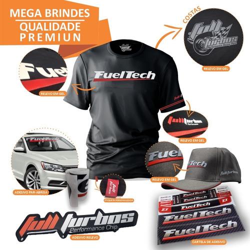 fueltech ft450 com chicote 3m + ultra brinde+camiseta gel+bc