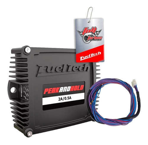 fueltech ft450 + peak and hold 2a + sensores + ultra brindes