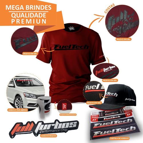 fueltech ft450 s/ chic + mega brinde camiseta bordo gel bp