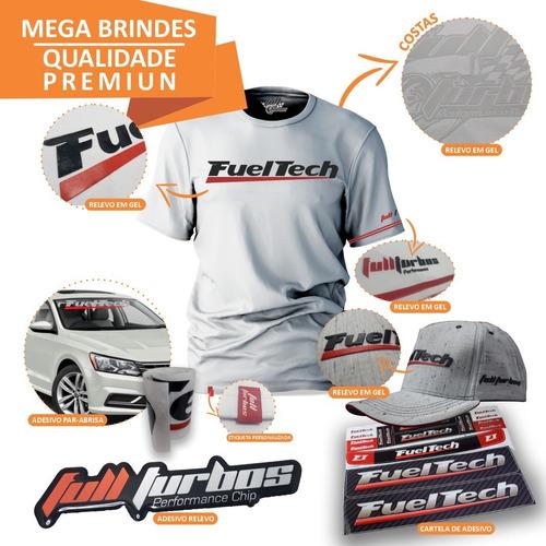 fueltech ft450 s/ chic + mega brinde+camiseta branca gel+bb