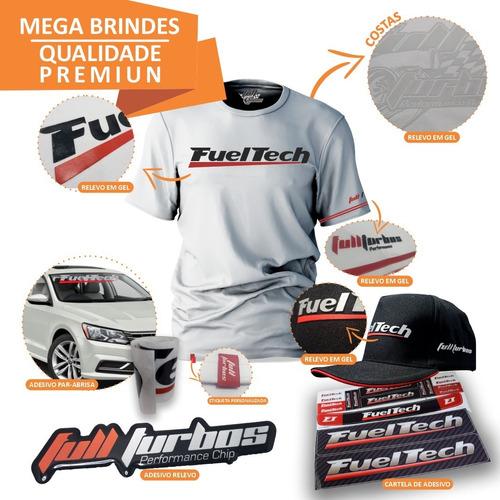 fueltech ft450 s/ chic + mega brinde camiseta branca gel+bp