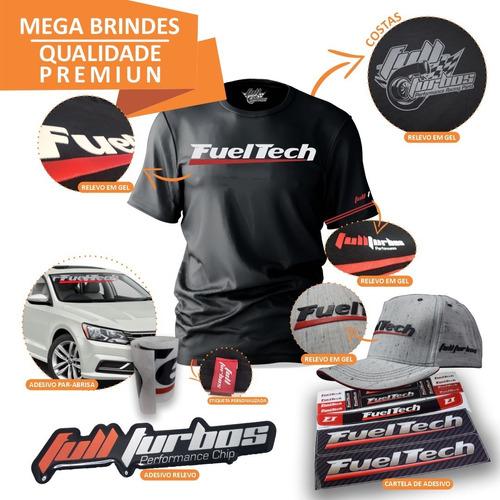 fueltech ft450 sem chicote + mega brindes camiseta gel+bb