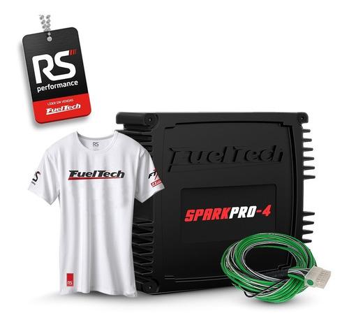 fueltech sparkpro-4 (spark pro 4) + brindes + 12x sem juros