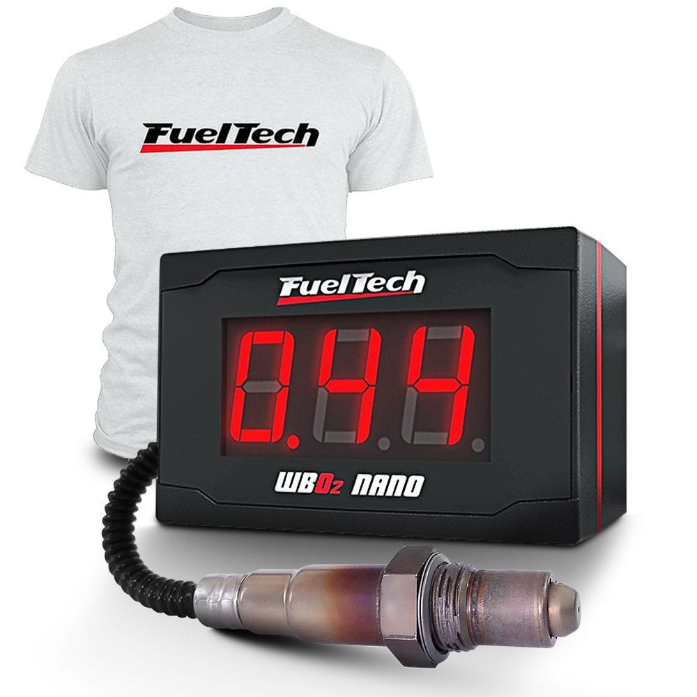 1598215e43f fueltech wide band nano c  sonda bosch e chicote de 2 metros. Carregando  zoom.