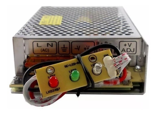 fuente 12v (13.8) 4a amp switching con ups carg bateria cctv
