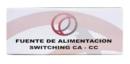 fuente 3a switching 12v regulada, certificada cctv importada