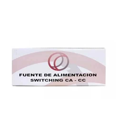 fuente 5a switching 12v regulada, certificada cctv import rl