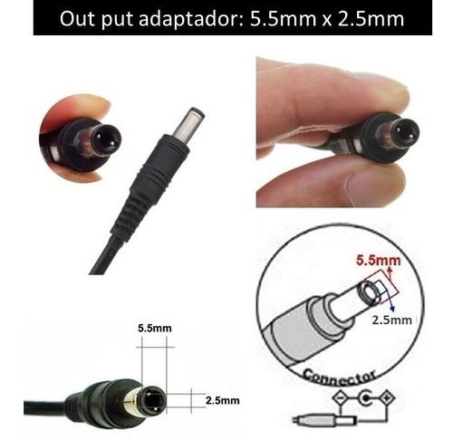 fuente adaptador ac/dc 12v 5a switch poe cámaras cinta led