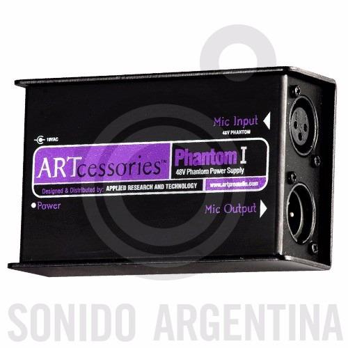 fuente alimentacion art phantom 1 48v microfono condensador