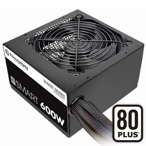 fuente alimentación pc thermaltake 600w 80 plus smart